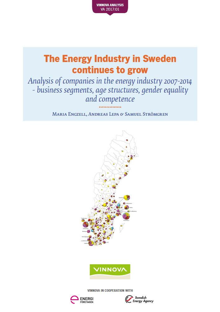 The Energy Industry in Sweden continues to grow